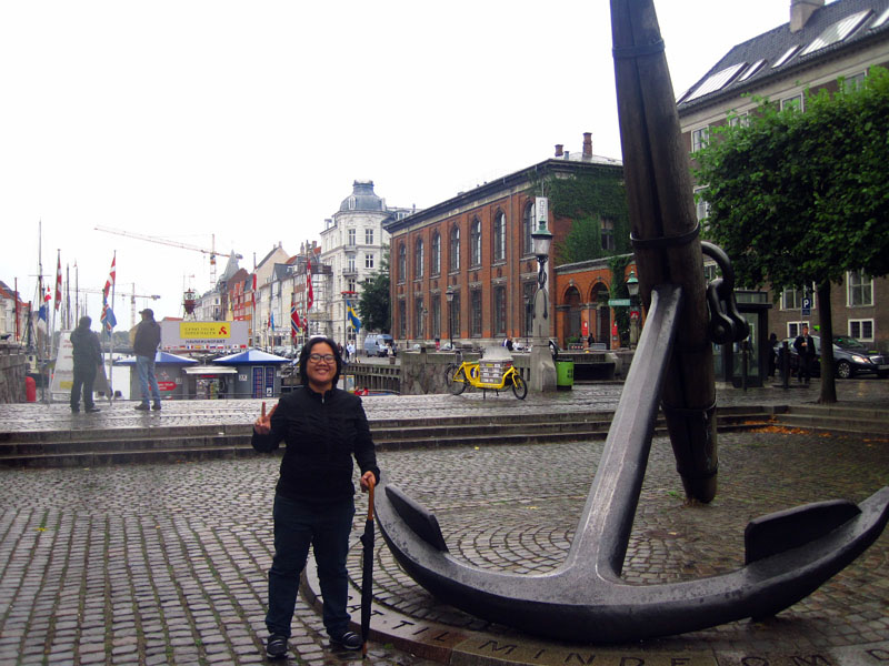 Giant anchor! Papicture! (This photo taken by V from Mexico! Thanks!)