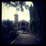 Jaro Church in Leyte, where we had final rites for Auntie Penn.