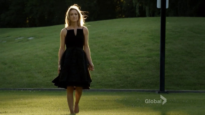 A moment of silence for the beautiful Zoie Palmer. Wow.